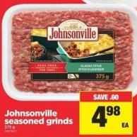 Johnsonville Seasoned Grinds - 375 g