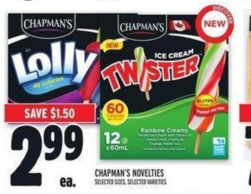 Chapman's Novelties