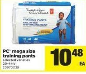 PC Mega Size Training Pants - 20-44's