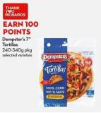 Dempster's 7in  Tortillas  240-340g Pkg