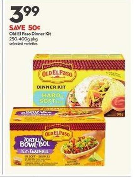 Old El Paso Dinner Kit