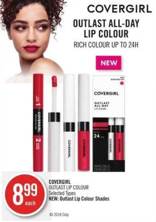 Covergirl Outlast Lip Colour