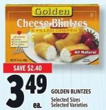 Golden Blintzes