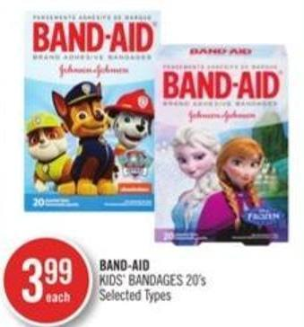 Band-aid Kids' Bandages 20's