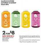 Loop Cold Pressed Juice