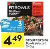 Stouffer's Fit Bowls - 3 Air Miles