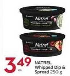 Natrel Whipped Dip & Spread