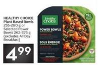 Healthy Choice Plant Based Bowls