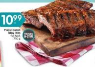 Maple Bacon Bbq Ribs Full Rack 710 g