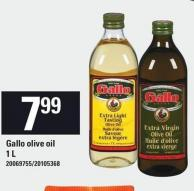 Gallo Olive Oil 1 L
