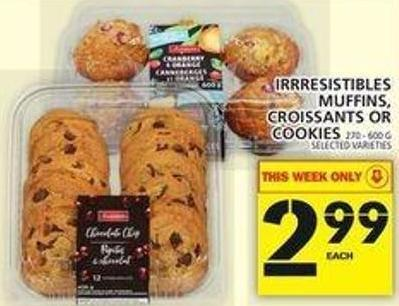 Muffins - Croissants Or Cookies