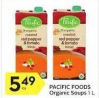 Pacific Foods Organic Soups