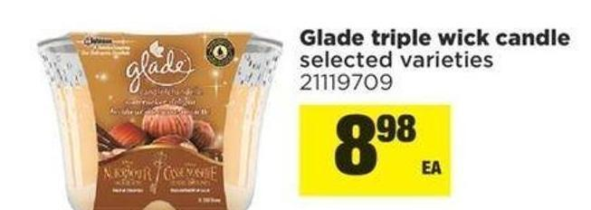 Glade Triple Wick Candle