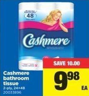 Cashmere Bathroom Tissue - 2-ply - 24=48