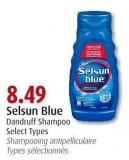 Selsun Blue Dandruff Shampoo  Select Types
