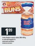 Little Debbie Snack Cakes 300-459 G Or Old Mill Bagels 6's