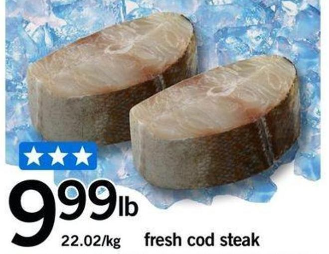 Fresh Cod Steak