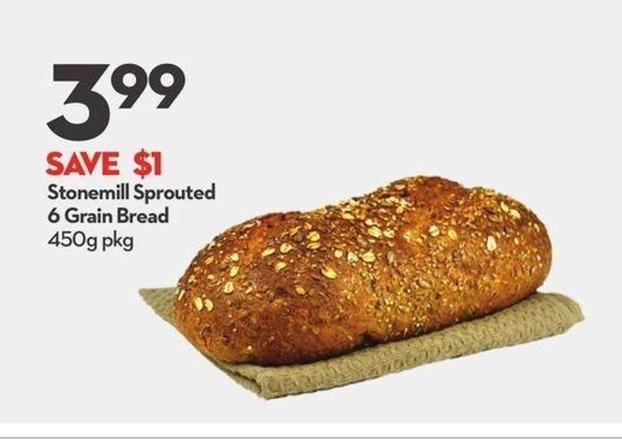 Stonemill Sprouted 6 Grain Bread