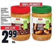 Irresistibles Naturalia Peanut Butter