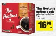 Tim Hortons Coffee PODS - 30 Ct