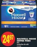 Maxwelll House Coffee PODS - 60's