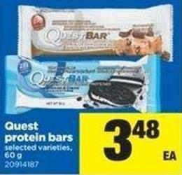 Quest Protein Bars - 60 g