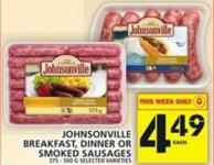 Johnsonville Breakfast - Dinner Or Smoked Sausages