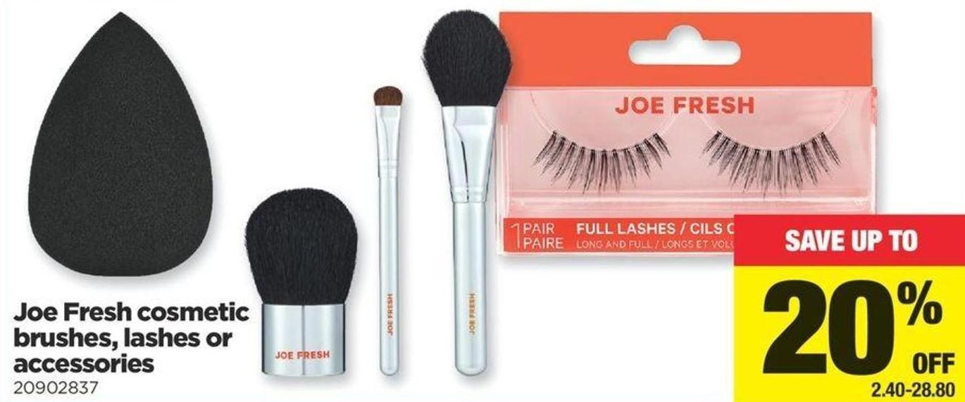 Joe Fresh Cosmetic Brushes - Lashes Or Accessories