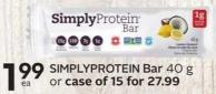 Simplyprotein Bar