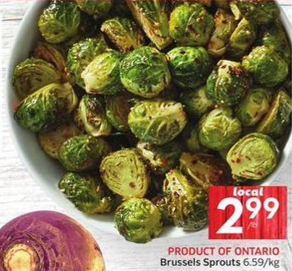 Brussels Sprouts 6.59/kg