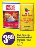 Five Roses or Robin Hood All Purpose Flour 2.5 Kg