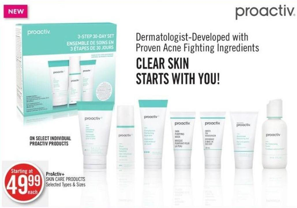 Proactiv+ Skin Care Products