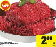 Lean Ground Beef Or Halal Lean Ground Beef