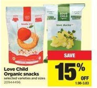 Love Child Organic Snacks