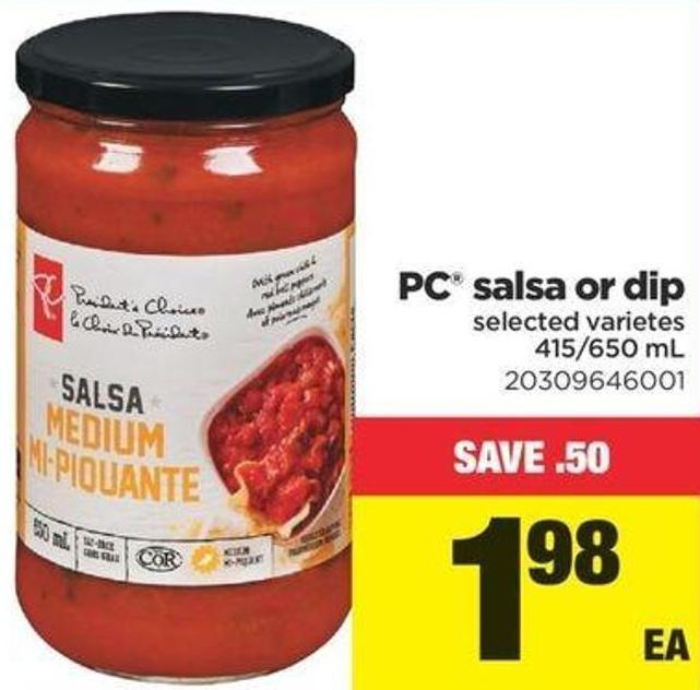 PC Salsa Or Dip - 415/650 Ml