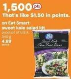 Eat Smart Sweet Kale Salad Kit - 340 g