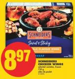 Schneiders Chicken Wings - 750 g