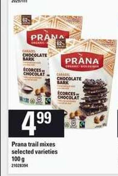 Prana Trail Mixes - 100 g