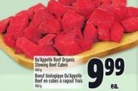 Qu'appelle Beef Organic Stewing Beef Cubes 454 g