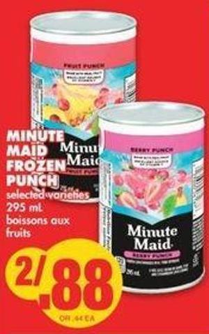 Minute Maid Frozen Punch - 295 Ml