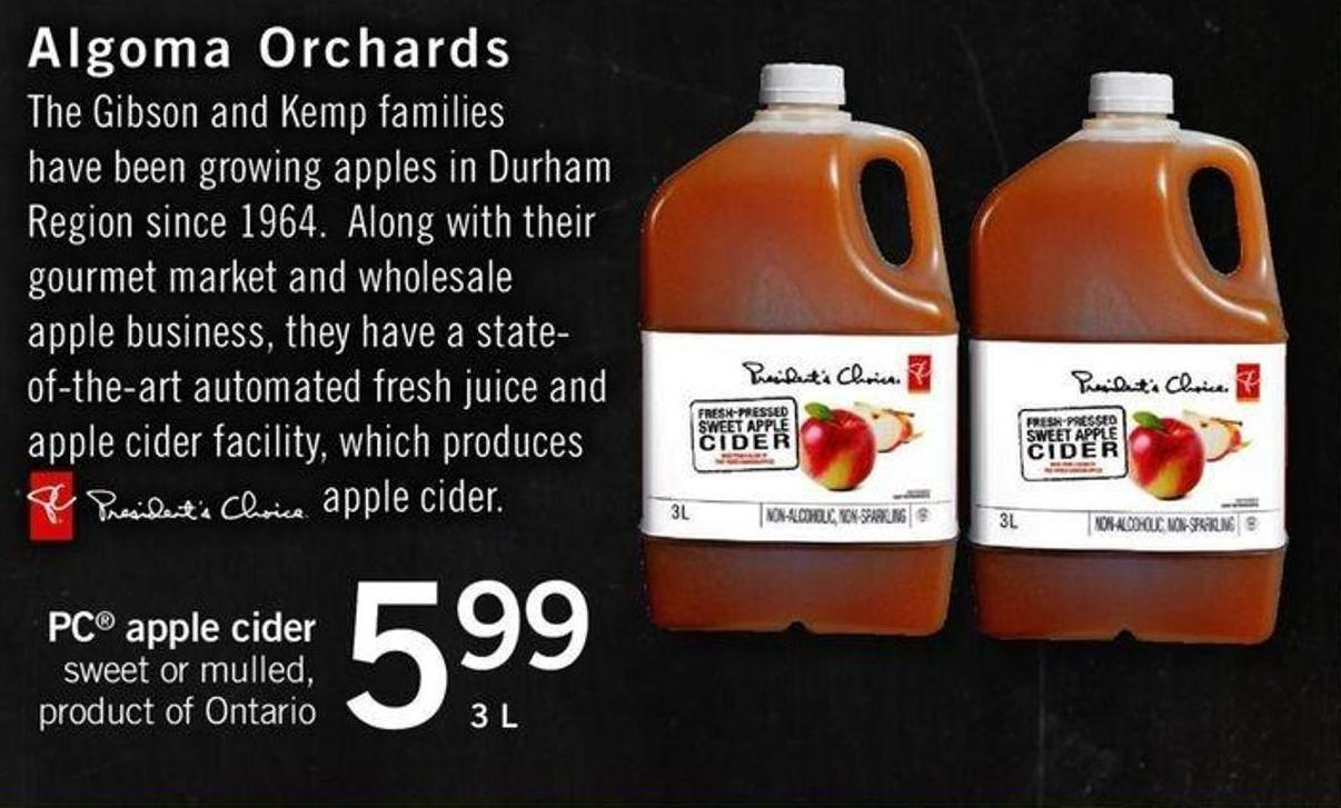 PC Apple Cider - 3 L