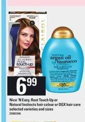 Nice 'N Easy - Root Touch Up Or Natural Instincts Hair Colour Or Ogx Hair Care