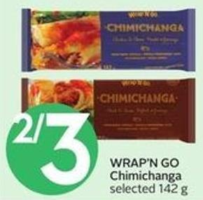 Wrap'n Go Chimichanga