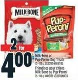 Milk-bone Or Pup-peroni Dog Treats 75 - 113 g