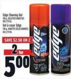 Edge Shaving Gel 198 g