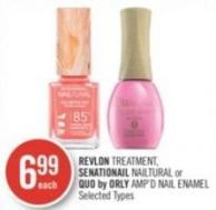 Revlon Treatment - Senationail Nailtural or Quo By Orly Amp'd Nail Enamel