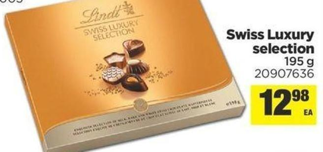 Swiss Luxury Selection - 195 G