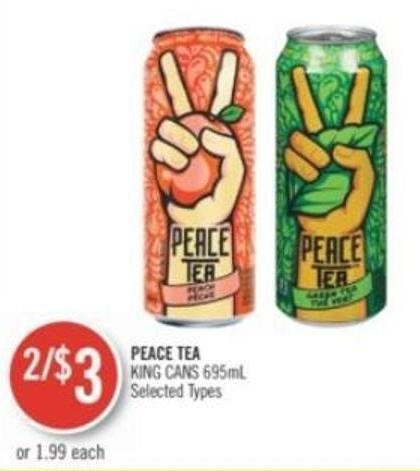 Peace Tea King Cans 695ml