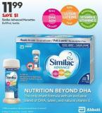 C Similac Advanced Nursettes 8x59ml