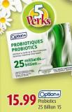 Option+ Probiotics 25 Billion 15